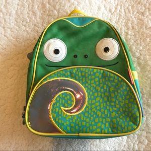 SkipHop zoo kid lizard backpack